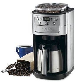 Cuisinart grind and brew thermal coffeemaker - frontgate