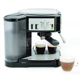 Capresso espresso and cappuccino machine - frontgate