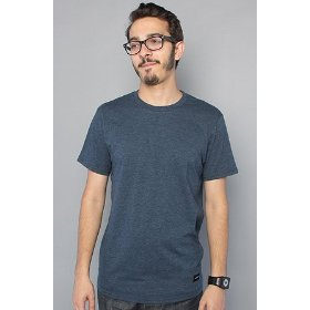 Nixon the tee marle in navy,t-shirts for men