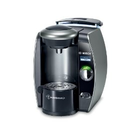 Bosch tas6515uc tassimo single-serve coffee brewer, twilight titanium