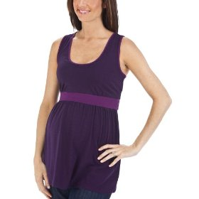 Liz lange® for target® maternity sleeveless racerback tank top - grape