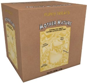 Mother Nature Puppy Treat - 20 lb