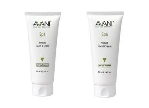Avani Velvet Hand Cream 100ml/3.4fl.oz. 2 Pack