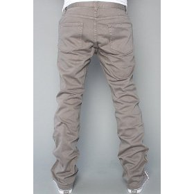 Rvca the romero stretch twill ii pants in industrial grey,pants for men