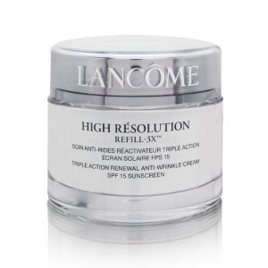 Lancome High Resolution Refill 3x Cream SPF 15 1.7 Oz / 50 Ml NEW (Unboxed)