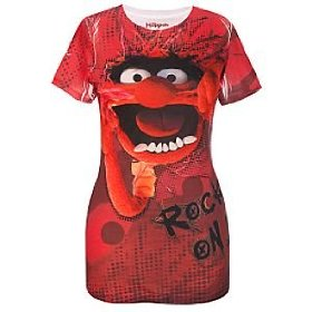 Disney fitted ''rock on'' animal muppets top