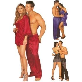 1st fantasies charmeuse sleepwear lounge pant - color choices and comfy! (pants only)