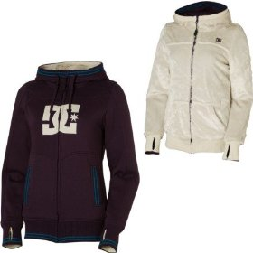 Dc felice full-zip hooded sweatshirt - women's