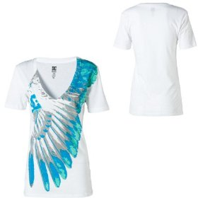 Dc one winged t-shirt - short-sleeve - women's