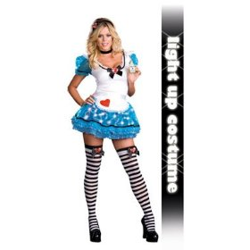 Wonderland's de-light womens alice in wonderland outfit