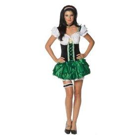 Plus size dreamgirl sexy good luck charm costume