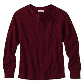 Boys' cherokee® red long-sleeve thermal shirt
