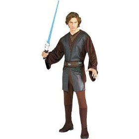 Anakin skywalker men's costume