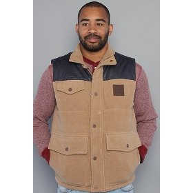Lrg the roots artillery vest in british khaki heather,vests for men