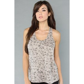 Ezekiel the blackbird tank in ash gray,tops (sleeveless) for women