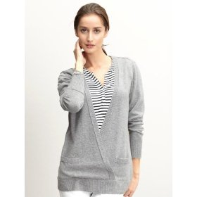 Banana republic closed wrap cardigan