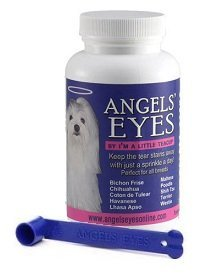Angels Eyes Tear Stain Remover Eliminator for dogs and cats BEEF Flavor + FREE Scoop