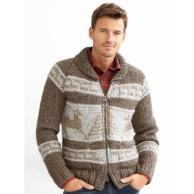 Banana republic heritage winter full-zip sweater