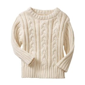 Old navy cable-knit pullover sweaters for baby