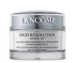 Lancome for Women. High Resolution Refill Anti-wrinkle Cream 0.5 Oz