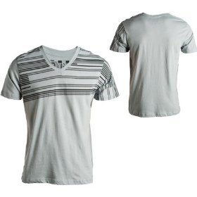 Volcom tread slim v-neck t-shirt - short-sleeve - men's