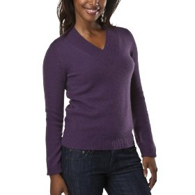 Merona® women's cashmere sweater - wood violet