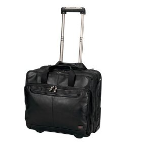 Victorinox swiss army architecture 2.0 rolling parliament wheeled expandable brief leather