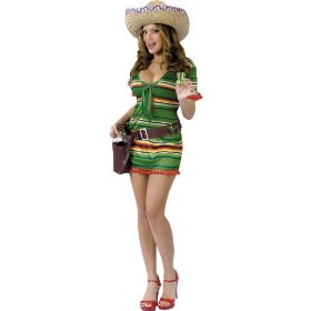 Shot girl waitress costume