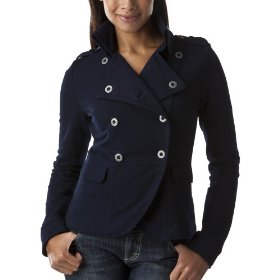 Converse® one star® womens brigette jacket knit top - federal blue