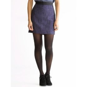 Banana republic textured mini skirt