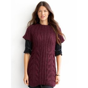 Banana republic chunky cable tunic