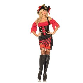 Buccaneer babe sexy holiday party costume