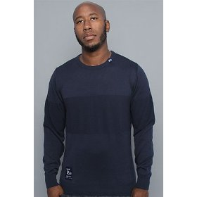 Lrg core collection the cc sweater in navy,sweaters for men