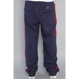 Lrg the hall of famer track pant in navy,pants for men