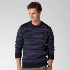 Fossil foley wool sweater