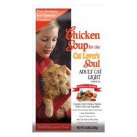 Chicken Soup for the Cat Lover's Soul Dry Cat Food for Adult Cat, Light Chicken Flavor, 6 Pound