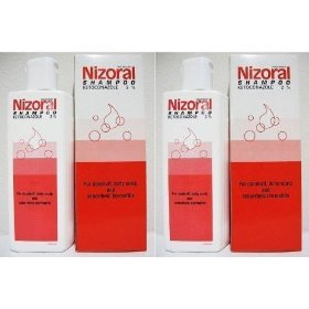 2 Tubes Nizoral Shampoo Ketoconazole 2% A-d Anti-dandruff and Itchy Scalp 100ml Made in Thailand