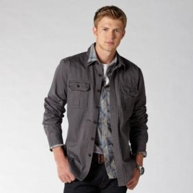 Fossil mitchell utility shirt