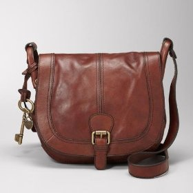 Fossil zb3008 vintage reissue flap crossbody bag