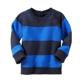 Gap rugby stripe sweater