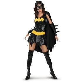 Batgirl deluxe adult costume - adult costumes