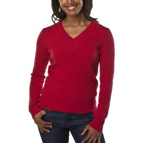 Merona® women's cashmere sweater - rocket red