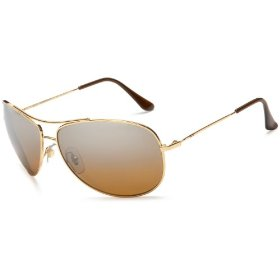 Ray-ban rb3293p bubble wrap aviator polarized sunglasses