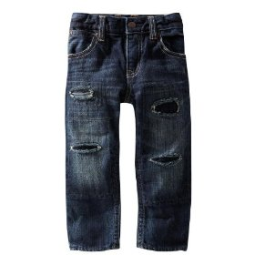 Gap playdate straight jeans (repair dark wash)