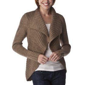 Merona® women's waterfall cardigan sweater - camel heather