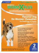 Worm X Plus for Small Dogs 6-25 Lbs 2ct