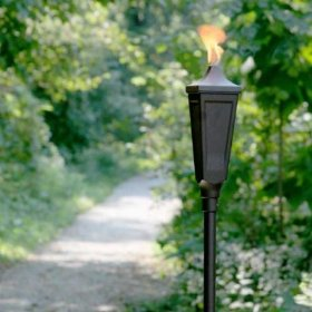Classic tiki torches weathered brown - sgt006-14