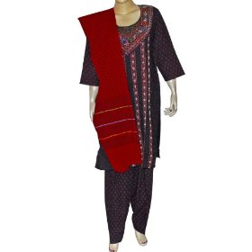 Casual wear cotton embroidered salwar kurti size l