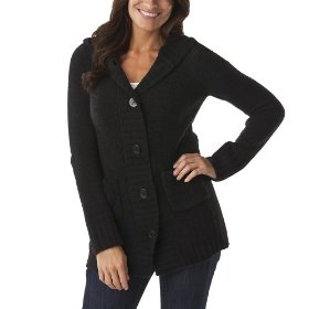 Merona® women's chenille hoodie sweater - black