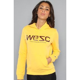 Wesc the wesc pullover hoody in corn hood ,sweatshirts for women